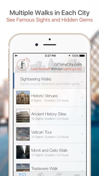 Prague Walking Tours and Map Screenshot 1
