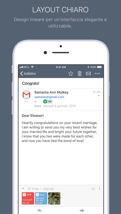 Screenshot of Bizmail - Business email1