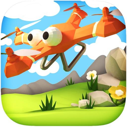 Floaties - Бесконечные Летающие игры