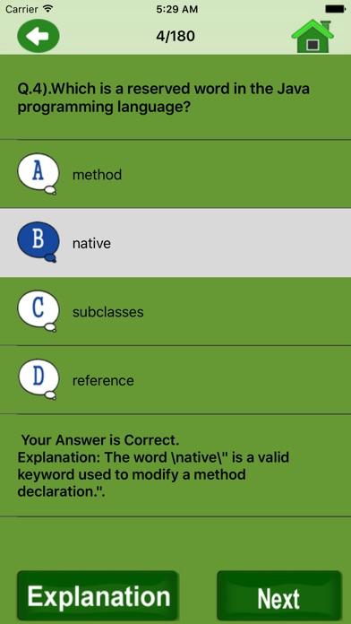 Examen pratique de JavaCapture d'écran de 3