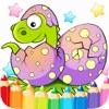 123 Da Colorare Dinosauri: Tutto In Uno Dino Libro Da Colorare Per Bambini