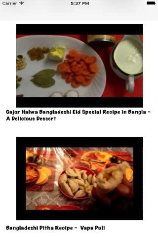 Bangladeshi Recipes (videos) screenshot 1