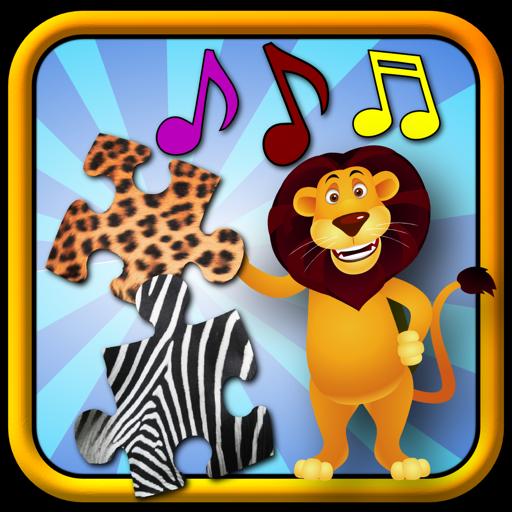 儿童动物拼图-教孩子形状和匹配 for Mac