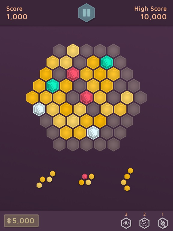 Hexa Puzzle Aurum For iOS Hits Free For First Time In A Year
