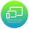 Website Template (Education & IT) With Html Files Pack4 2003 access templates