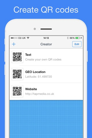 QR Reader for iPhone screenshot 3