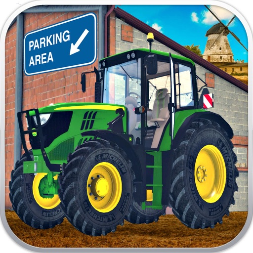 Ferme pilote de stationnement du tracteur jeux de - Jeux de tracteur agricole gratuit ...