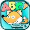 Цвет и Paint Zoo алфавита - игра Английский ABC обучения для детей премиум
