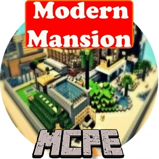 Modern Mansion MAPS for MINECRAFT PE ( Pocket Edition
