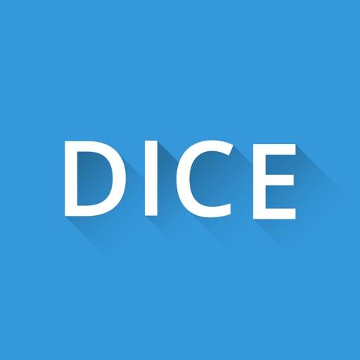 Flat Dice iOS App