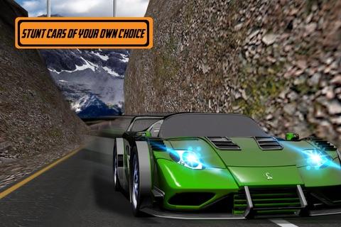 Car Stunts Dangerous Roads screenshot 4