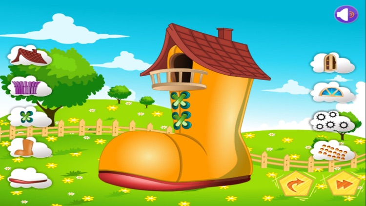 shoe house decoration game for kids by krunal patel