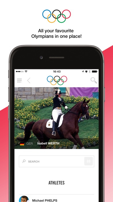 The Olympics - Official App for the Olympic Games Screenshot
