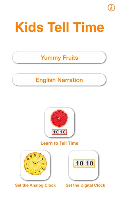 Kids Tell Time! on the App Store