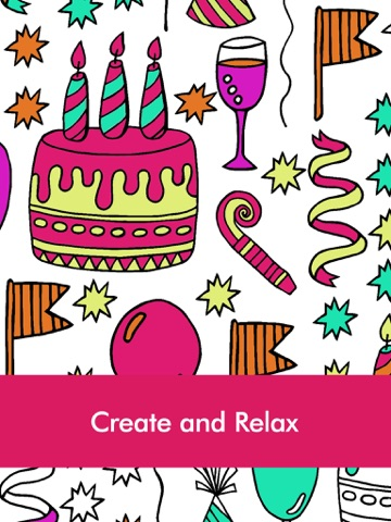Doodle Coloring Book for Adults & Kids: Free Fun Coloring Games ...