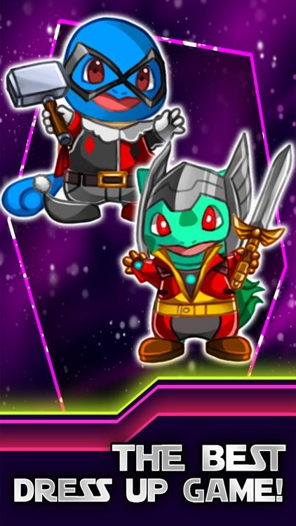 create your own monster hero - superhero dress up game pokemon