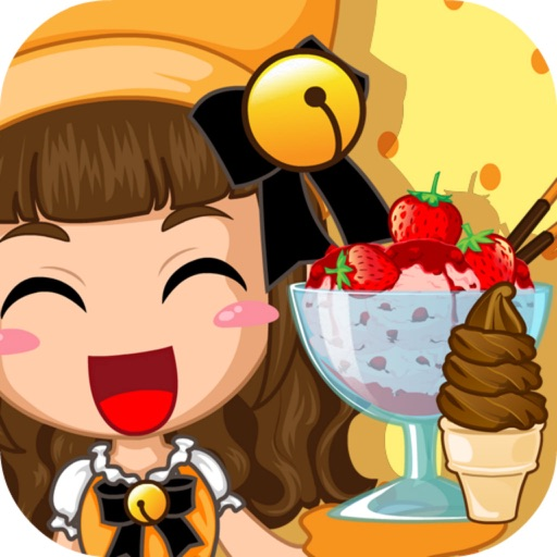Yellow Cat Ice Cream - Pets Restaurant/Cooking Game For Kids iOS App