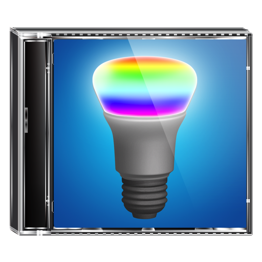 Cover Lights for Hue and iTunes
