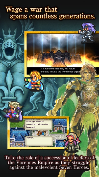 ROMANCING SAGA 2 screenshot 2