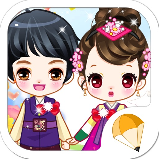 Korean Young Lovers Icon