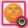 Lustige Face Food Changer - Obst- und Gemüseflächen Swap & face Morph Stand Kamera