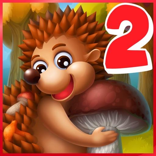 Hedgehog's Adventures 2 - games for kids iOS App