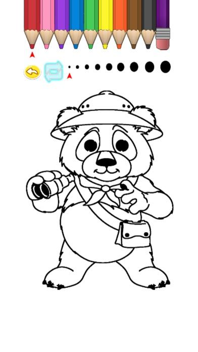 Screenshot of Kids Coloring Book - Cute Cartoon Matake5