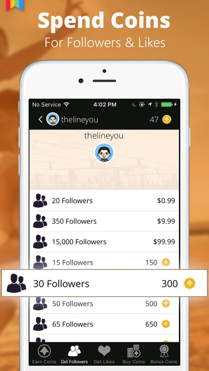 Power Followers - Get more followers and likes for Instagram by