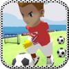 Soccer Running Flick - Football game for striker spirits rush goal champion
