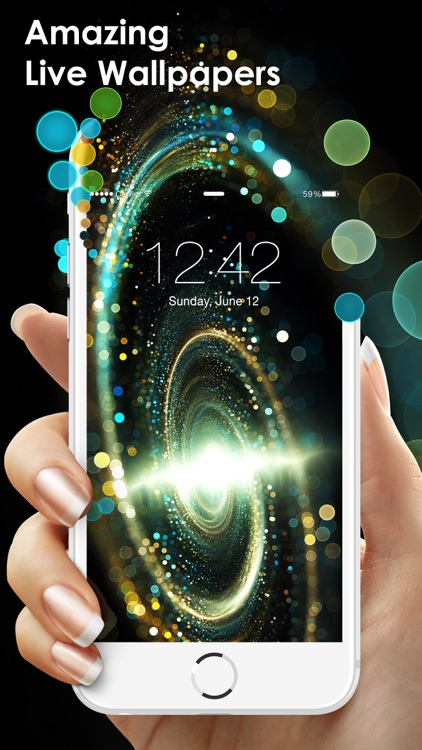Amazing Live Wallpapers for iPhone, iPad & iPod - Dynamic Backgrounds & Animated Live Photos