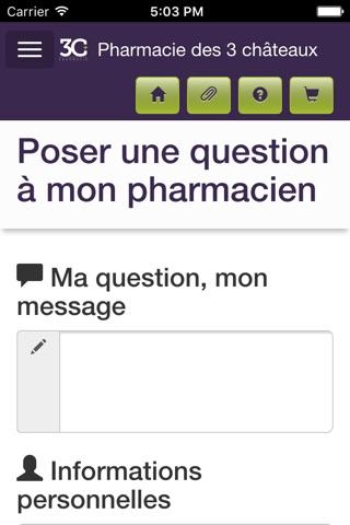 Pharmacie des 3 châteaux screenshot 3