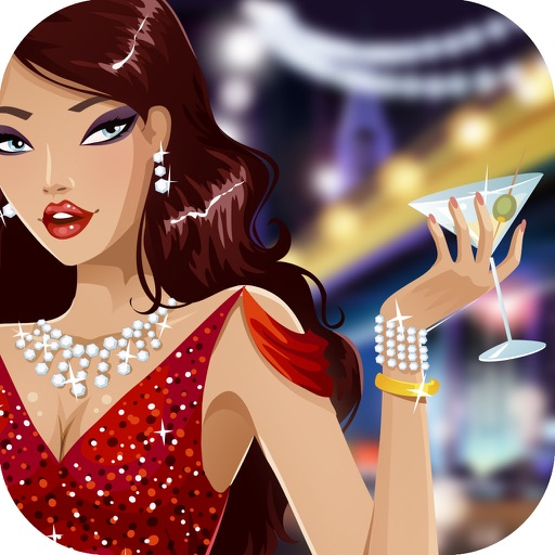 Poker Casino Girls in Holdem Las Vegas Royal Cards iOS App