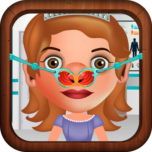 Nose Doctor Game for Girls: Sofia The First Version iOS App