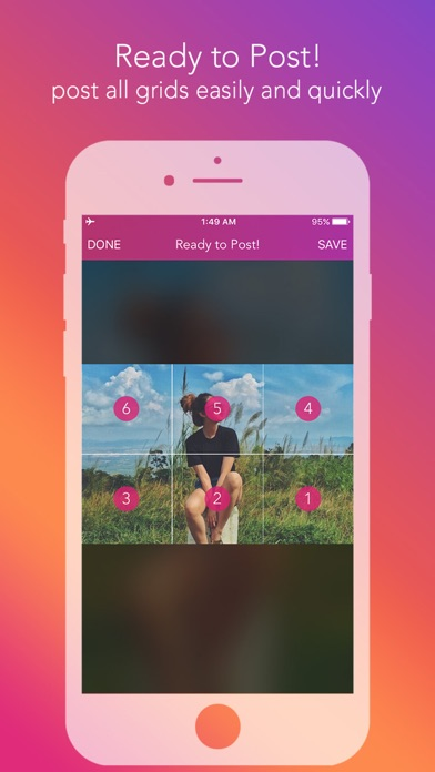 download Griddy Pro - Split Pic in Grids For Instagram Post apps 2