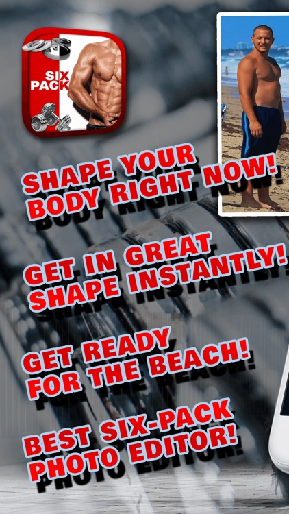 Six Pack Photo Editor – Have A Perfect Body & Muscles With