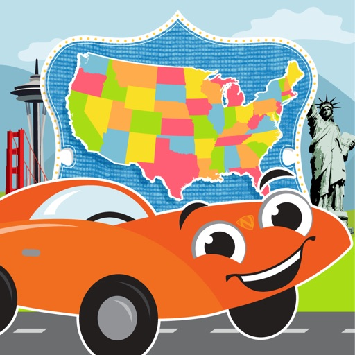 State Bingo and Road Trip US