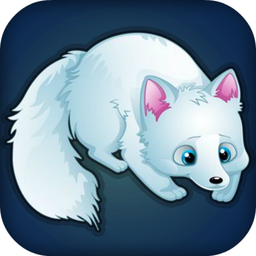 Arctic Foxes - Fun Feeding/Cute Animals Icon