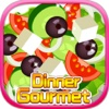 Dinner Goumet - Food Paradise, Girls Makeup and Makeover Games