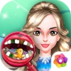 Crystal Lady Teeth Cure Salon - Beauty Surgeon Care/Celebrity Teeth Operation Games