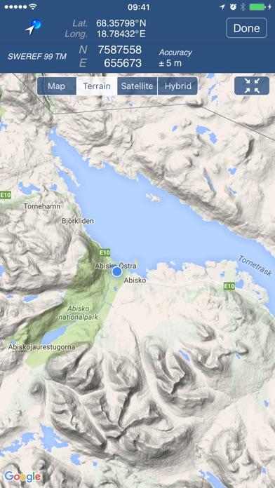 Swedish Coordinates SWEREF TM RT On The App Store - Sweden map coordinates
