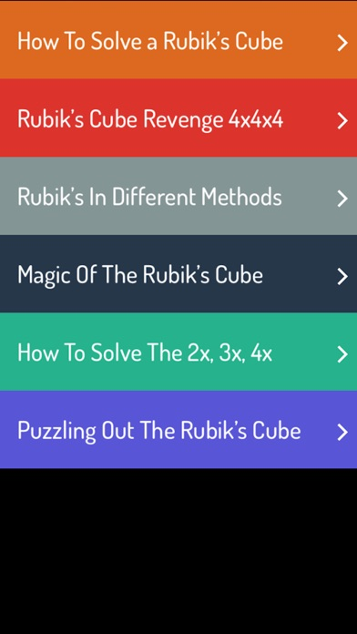 download Rubik's Cube Guide - A To Z Guide For Rubik's Cube apps 1
