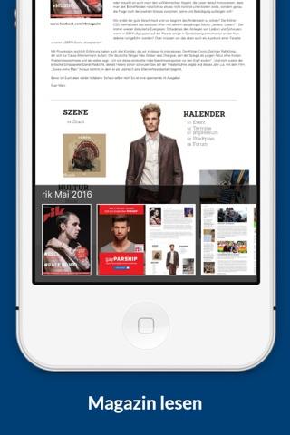 blu, hinnerk, gab, rik, Leo – die Magazine der blu Mediengruppe screenshot 4