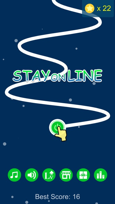 Stay on Line - Line Runner Screenshot