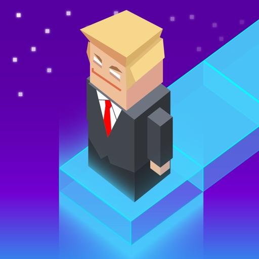 Trump Jumper Dash - Dumper Jump in the White House iOS App