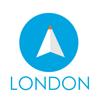 ロンドン(イギリス)旅行者のためのガイドアプリ 距離と方向ナビのPilot(パイロット)
