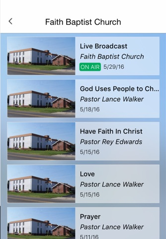 Faith Baptist Church screenshot 2
