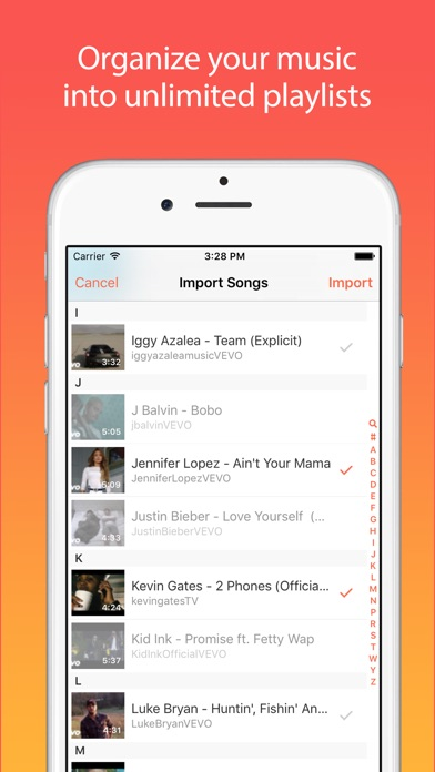 Screenshots of Musi - Unlimited Free Music For YouTube for iPhone