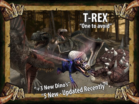 Dinosaur Safari Pro for iPad screenshot 1
