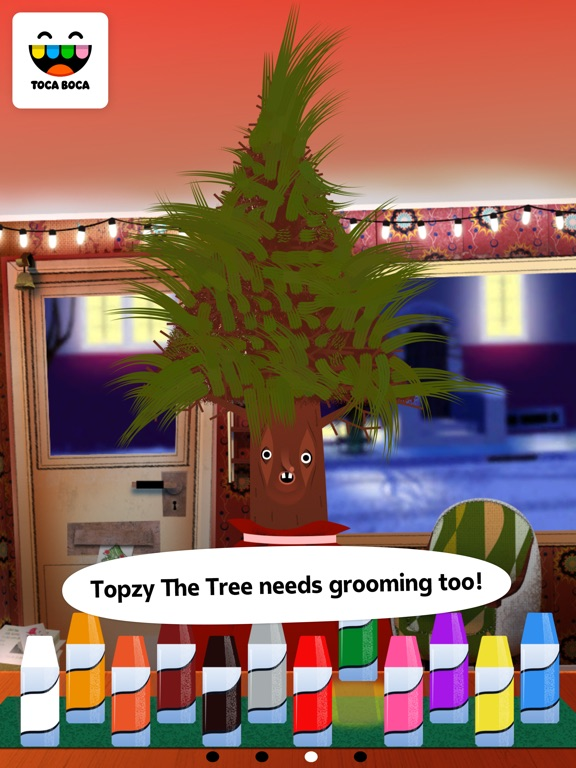 Screenshot #4 for Toca Hair Salon - Christmas Gift