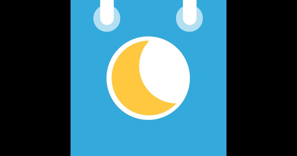 mondphasen kalender mooncal im app store. Black Bedroom Furniture Sets. Home Design Ideas